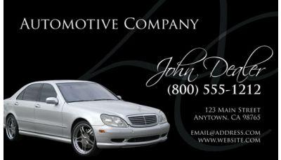 Automotive Business Card 004