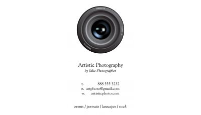 your photography business cards - Photography Business Cards