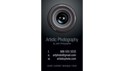 Photography Business Card Custom Printing Request - Photography business card template