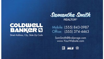 Coldwell banker real estate blue custom printing request real estate coldwell banker business card 03 colourmoves