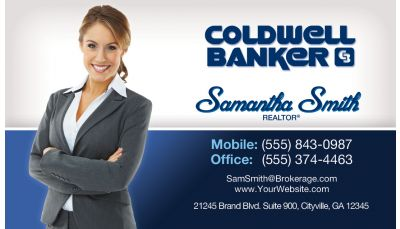 Coldwell banker real estate blue photo custom printing request your real estate business cards fbccfo Image collections