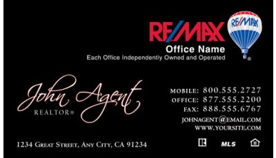 Remax business cards real estate business cards remax business your real estate business cards friedricerecipe Choice Image