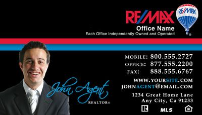 Remax business cards professional designs customized to you remax business card 026 accmission Gallery