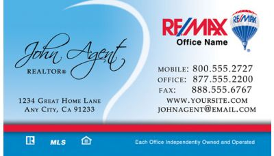 Remax business cards real estate business cards remax business your real estate business cards reheart Images