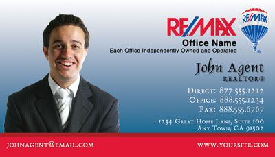 Remax business card 001 remax business cards real estate business your real estate business cards colourmoves Gallery